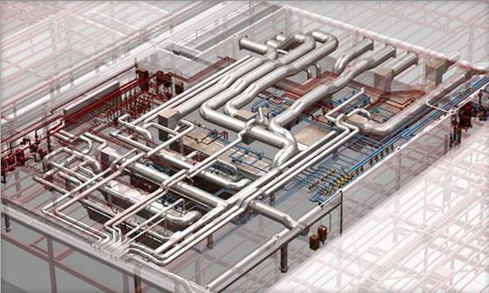 Nhà thầu Hệ thống điều hoà không khí và thông gió trung tâm