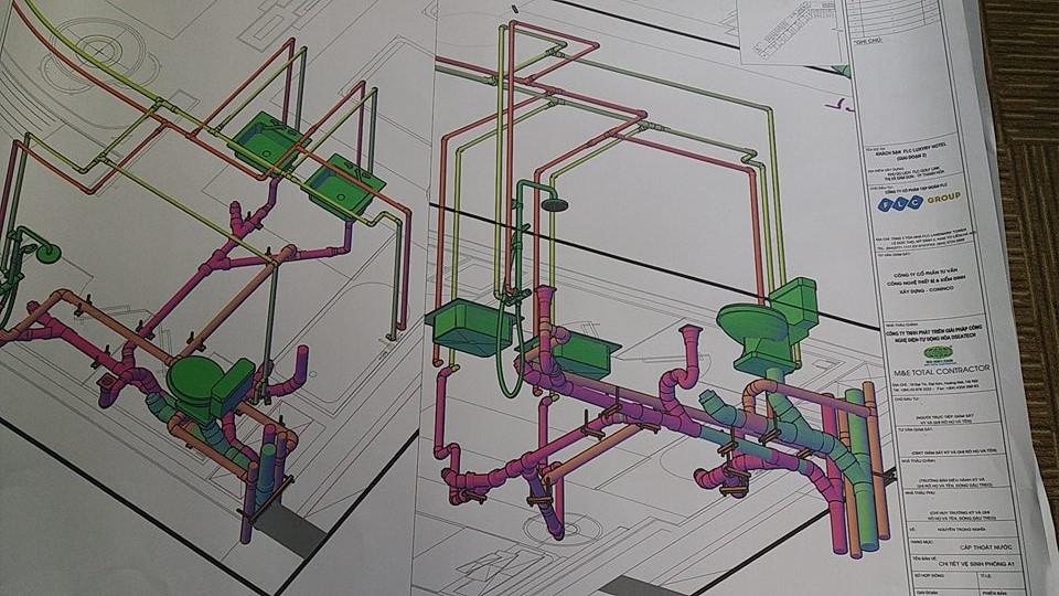 dseatech áp dụng BIM REVIT triển khai dự án khách sạn 5 sao FLC